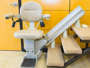 a bruno stairlift or chair lift demo unit in Salem Oregon